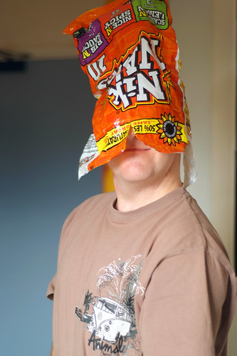 What Do You Call A Man With A Crisp Bag On His Head Day