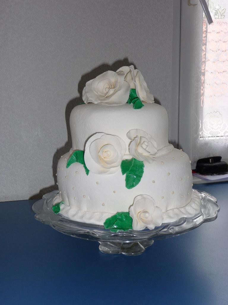 Torte Diamantene Hochzeit Blume S Susser Quatsch Flickr