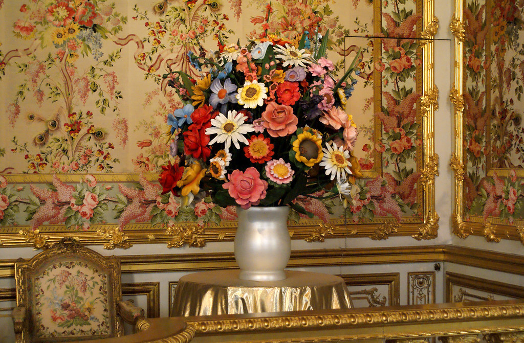 Jeff Koons Large Vase Of Flowers 1991 Polychrome Wood Marc