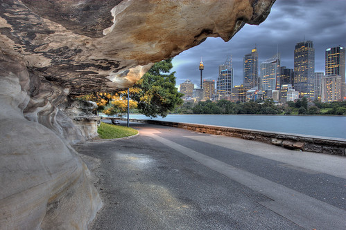 Caveman's view of Sydney | by Rafski