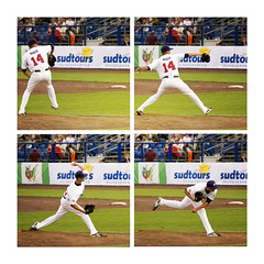 Baseball pitch sqeuence of Mike Minor, team USA at Haarlemse Honkbal Week 2008 | by Mattanalogue (matthijs rouw)