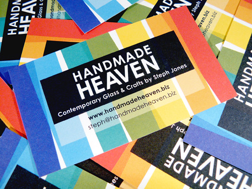 Yay! New business cards have arrived [08/07/08] | by handmadeheavendotbiz