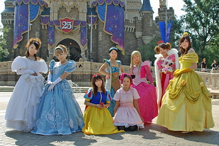 Disney Halloween 2008-10 princesses | by HAMACHI!