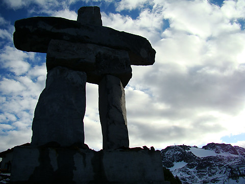 Inukshuk Official Symbol Of The 2010 Winter Olympics Flickr