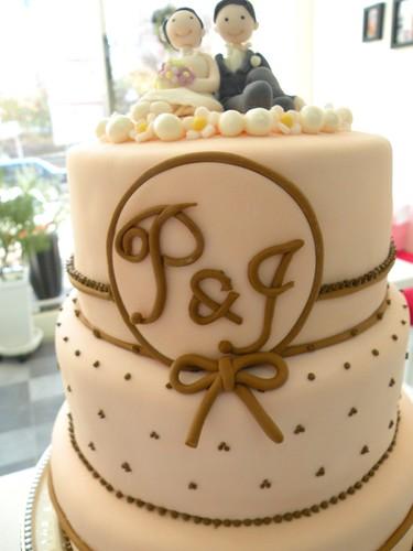 Wedding Cake Kim Kardashian