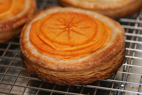 Persimmon & Apple Puff Pastry Tart | by Food Librarian
