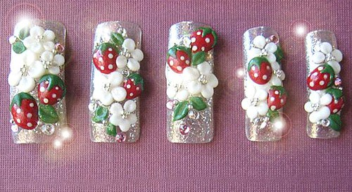 ... 3D Nail Art Design by NailAsILove.com | by nailasilove - 3D Nail Art Design By NailAsILove.com 3D Nail Art Design B… Flickr