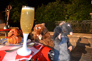 Meeting Remy and Emile at Disney's Dine with the PIXAR Stars | by Castles, Capes & Clones