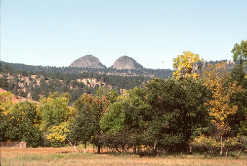 Devils Tower Wy >> Missouri Buttes, near Devils Tower, WY (1985) | volcanic plu… | The Douglas Campbell Show | Flickr