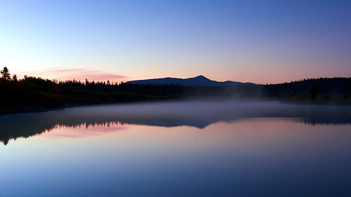 Oxbow Bend foggy at dawn, Grand Tetons | by Lisa Bettany {Mostly Lisa}