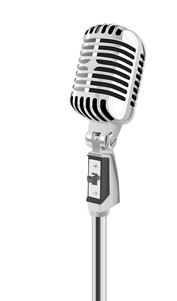 retro microphone vector brendan canty flickr rh flickr com microphone vectoriel microphone vector free download