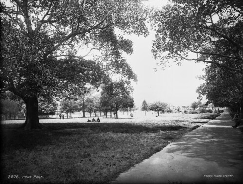 Hyde Park, Sydney | by Powerhouse Museum Collection