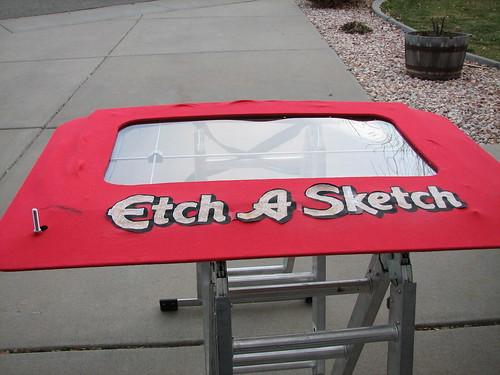 how to fix knob on etch a sketch