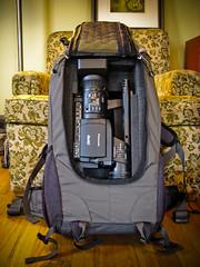 Reinforced REI Backpack for Video Camera | I rebuilt (or red… | Flickr