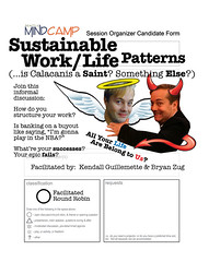 Seattle Mind Camp 5: Sustainable Work/Life Patterns | by bryanzug