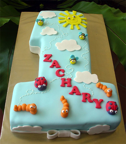 No.1 Bugs cake | by specialcakes/tracey