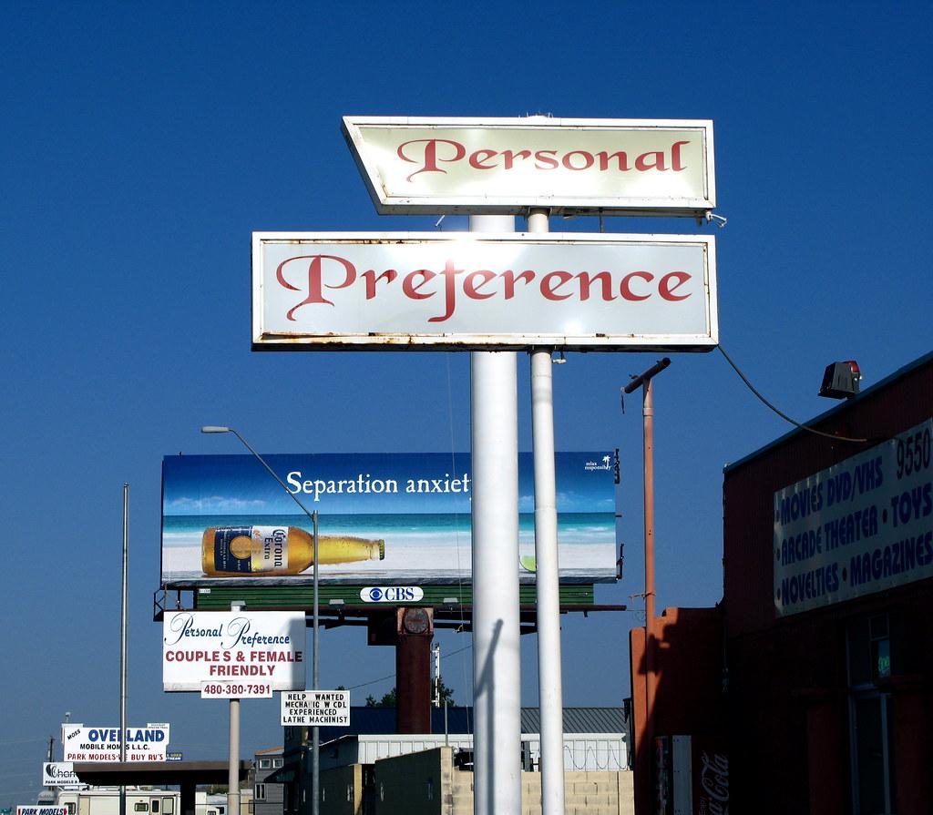 Personal preference mesa az