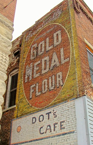 IN, Fairmount-Gold Medal Flour Wall Sign | by Alan C of Marion,IN