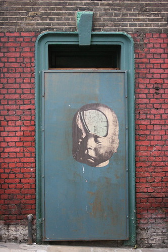 Derelict Doorway in Smithfield - with Paul Insect Graffiti | by Another Partial Success