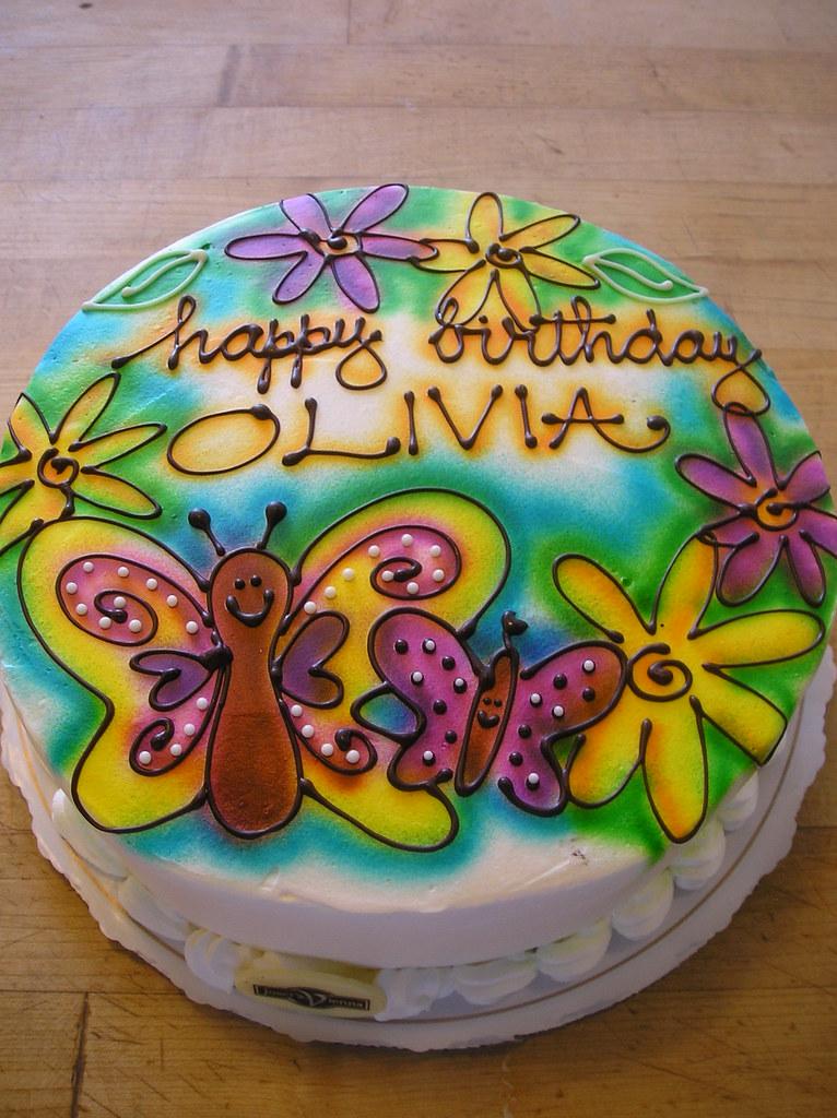 Happy Birthday Olivia Airbrush Marisa Hess Flickr