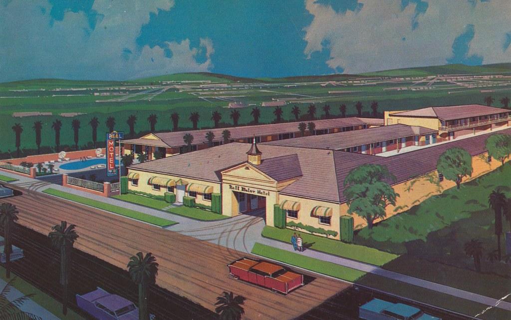 Bell Motor Hotel - Glendale, California