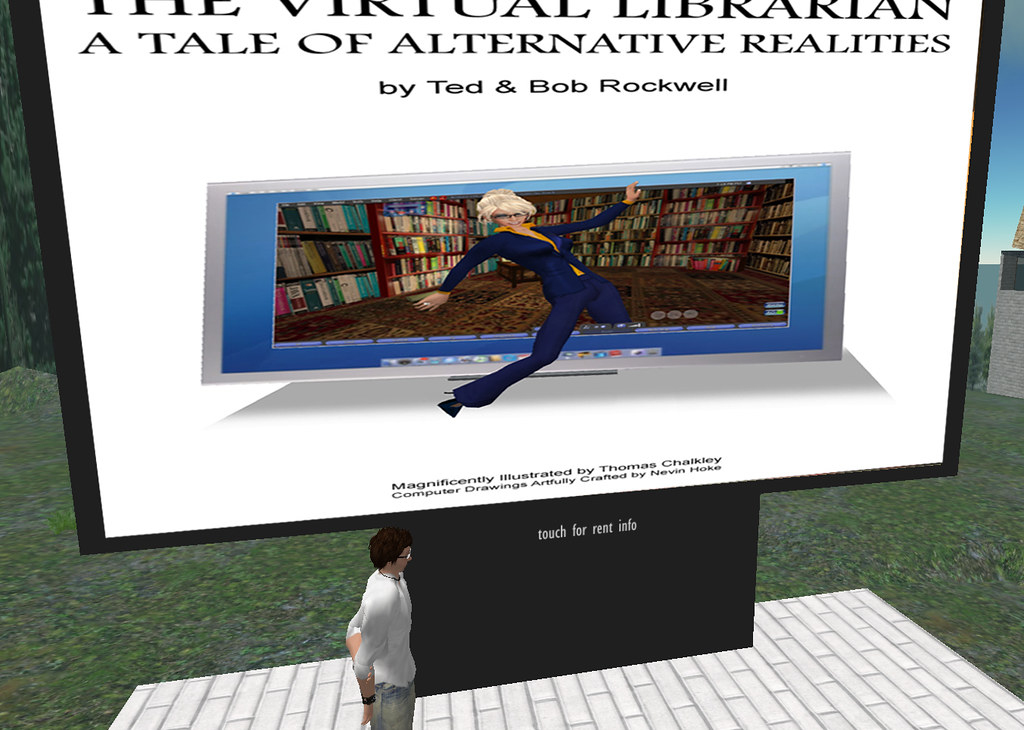 THE VIRTUAL LIBRARIAN: A TALE OF ALTERNATIVE REALITIES