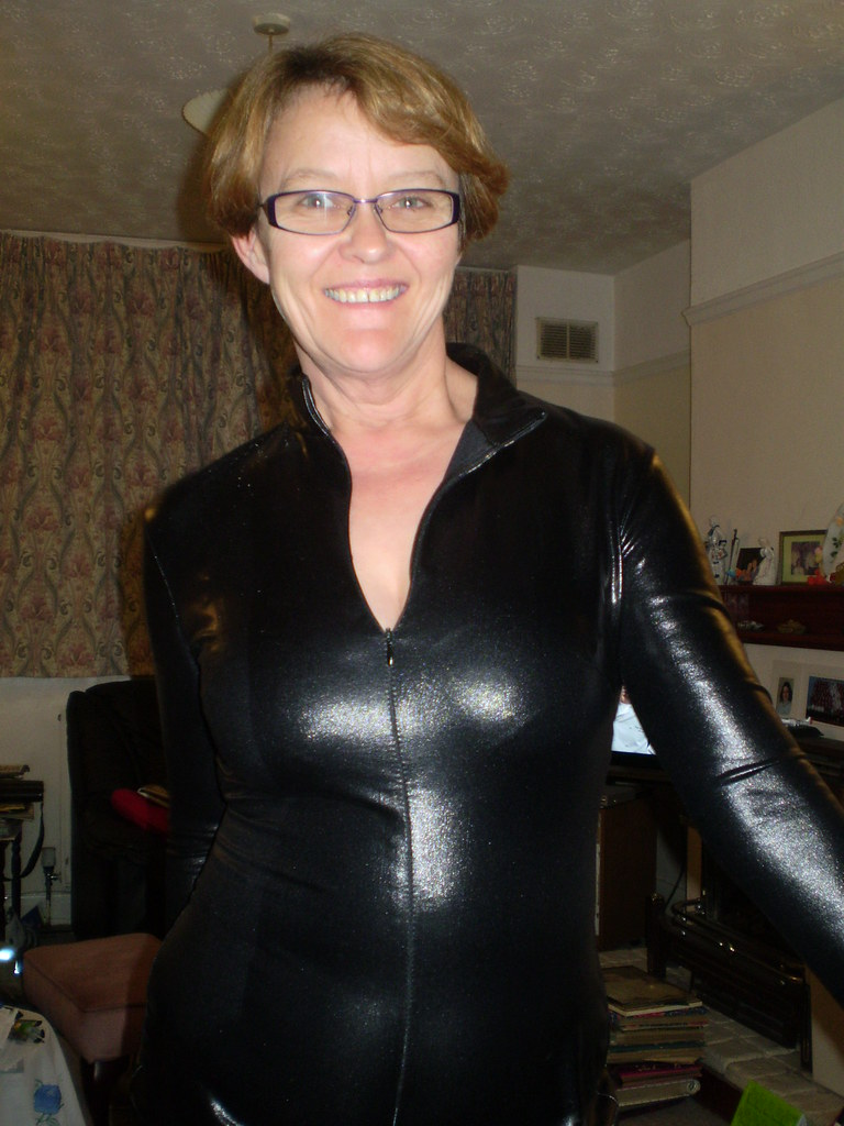 Shiny Lycra Catsuits  Flickr-5252