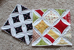 cathedral windows quilt  tutorial | by sunshine's creations
