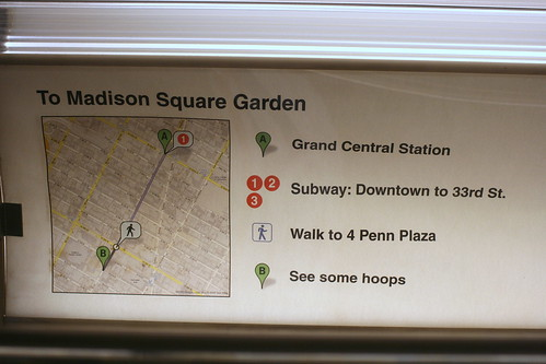 How Not To Get To Madison Square Garden On The Google Maps Flickr
