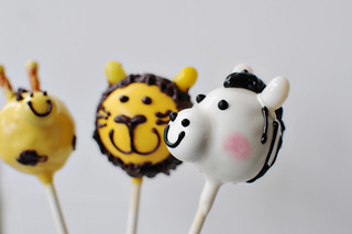 safari animal pops | by Sweet Lauren Cakes