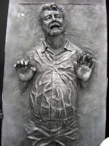 George Lucas in Carbonite | by The Official Star Wars