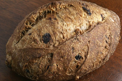 Sprouted Wheat Sourdough with Fruits and Nuts | by Wild Yeast