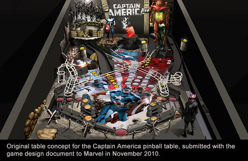 Captain America: table concept | by PlayStation.Blog