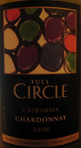 Full Circle 2006 Chardonnay (front) | by 2 Guys Uncorked