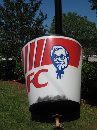 Downed KFC bucket | by Paxton Holley