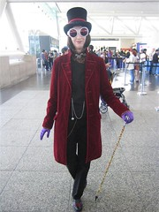 Willy Wonka Costume at WonderCon 2007 | by Great White Snark