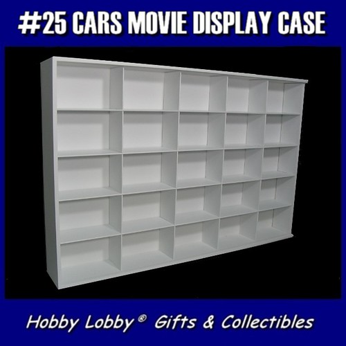 25 1 43 Cars Movie Display Case Mini Estante Para