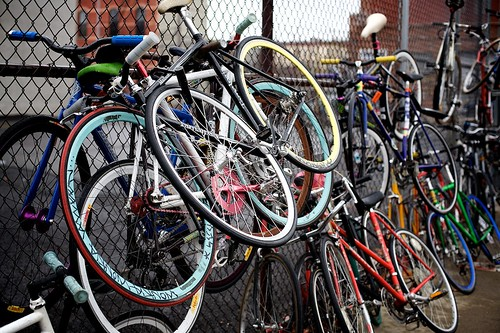 Bike Parking | by Gary Rides Bikes