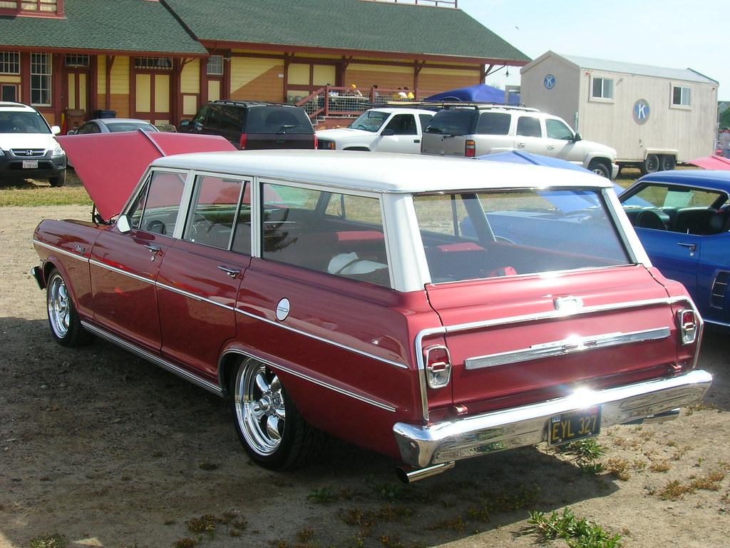 All Chevy 64 chevy ii : 1964 Chevrolet Chevy II Nova Station Wagon (Custom) 'EYL 3… | Flickr