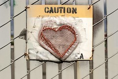 Caution: heart | by gwen