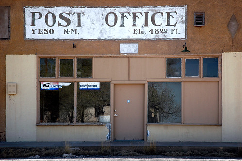 Post Office, Yeso NM. | by anyjazz65