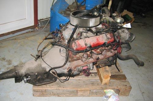 V8 Motor   Ausgebauter V8 Chevy Motor 6,2 Liter Diesel www.z…   Flickr