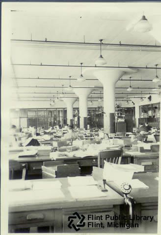 Buick Motor Company Office Interior View An Interior