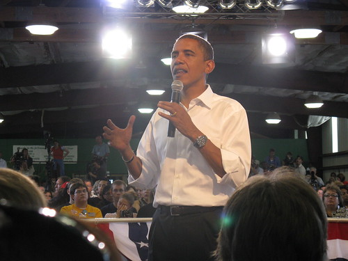 Obama in Terre Haute | by BeckyF