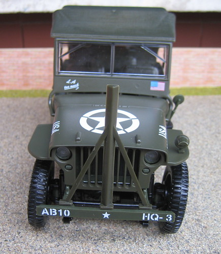 Willys Jeep In Service With Italian Police-The Original Je