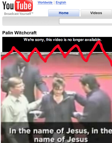 Sarah Palin Church Videos Removed... | by MyEyeSees