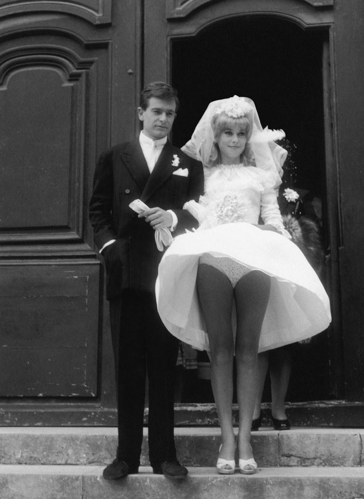 The Catherine Deneuves Flying Wedding Dress 1962 The W Flickr