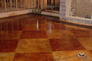 Stained concrete floor | by imprintconcrete