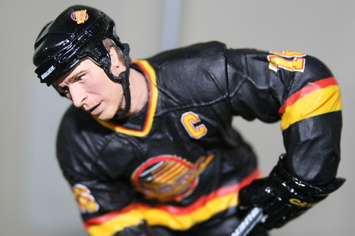 Trevor Linden figure | by Jeffery Simpson