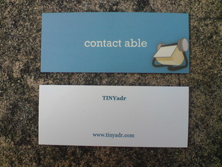 TINyadr.com moo minicards | by cole007
